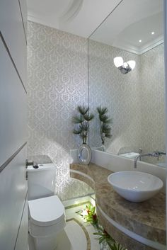 Fotos de Banheiros Moderno: Casa da Serra