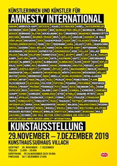 Poster for AI Art Exhibition, Villach Amnesty International, Graphic Design, Art, Poster Poster, Villach, Kunst, Visual Communication, Art Education, Artworks