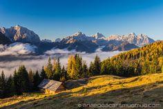 Morning mists from the hills above Kranjska Gora. - http://anapogacar.smugmug.com