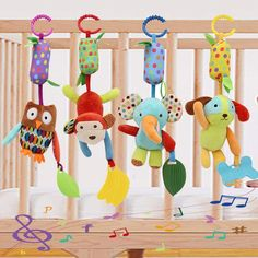 Newborns and Up Baby Einstein Bright Bold Rattle /& Teether High Contrast Rattle /& Teether Toy