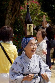 沖縄のおばあちゃん grandma in Okinawa