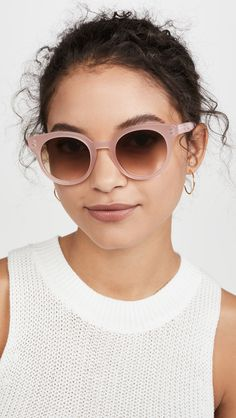 We're here with a roundup of our favorite Society Social pieces, fashion finds & trends to help us welcome the first day of spring in style. Stella Mccartney Falabella, First Day Of Spring, Square Faces, Face Shapes, Round Sunglasses, Blush, Shades, Good Things, Trends