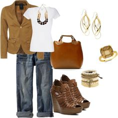 """""""classy casual"""" by hope-houston on Polyvore"""
