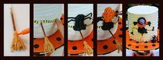 Halloween Witch Crash Cake TUTORIAL by My Cake School