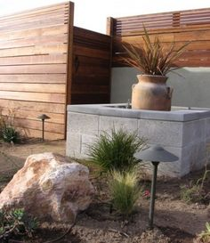 Wall Fencing Designs rocks metal wire wood fence design Horizontal Fence Lattice Top San Diego By Argia Designs Landscape Design Consultation