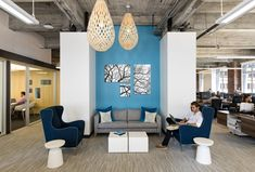 Design Blitz has recently completed the new office design for Meltwater, a PR and Social Media marketing software company headquartered in San Francisco.