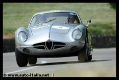 Alfa Romeo Sportiva on the 2014 Silverflag Hillclimb