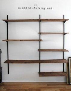 DIY - Wall Mounted Shelving - Full Tutorial  