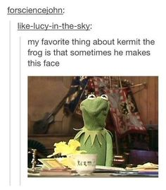 We all love this about Kermit: