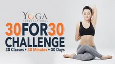 30 for 30 Challenge | Yoga International