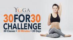 30 for 30 Challenge   Yoga International