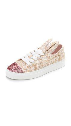 MINNA PARIKKA Some Bunny Sneakers. #minnaparikka #shoes #sneakers