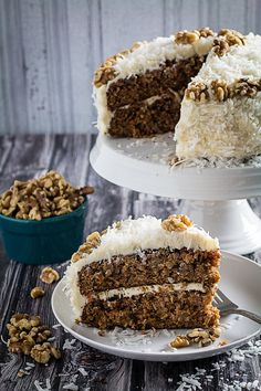 Gluten Free Carrot Cake | Community Post: 15 Of The Most Beautiful Cakes You'll Ever See In Your Life