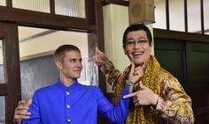 Justin Bieber Teams Up With 'PPAP' Star For a Japanese Ad