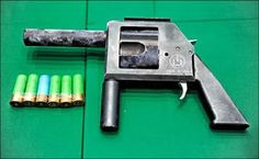 Improvised Home Built weapons from around the world that Mcguyver would be envious of!