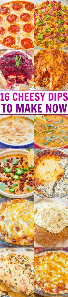 16 Cheesy Dips To Make Now