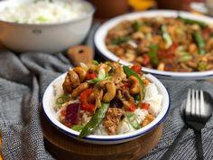 Kip Siam zelf maken a la Knorr wereldgerechten - Familie over de kook