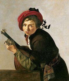 Bijlert Jan Van - Young Man Playing Lute 1625