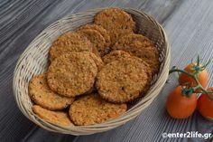 Σπιτικά Κρακεράκια βρώμης με ντοματίνια, σκόρδο και φρέσκο βασιλικό – enter2life.gr