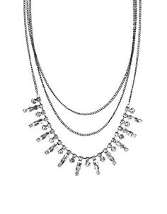 Oasis Baguette Stone Necklace