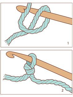 Learn Basic Crochet Stitches Crochet is easy once you learn the different stitches! See step-by-step diagrams with accompanying videos for making some of the most common crochet stitches, and get started on your first crochet project today. Easy Crochet Stitches, Crochet Simple, Crochet Stitches For Beginners, Stitch Crochet, Crochet Basics, Crochet Baby, Knit Crochet, Knitting Basics, Crotchet