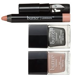 This neutrals set, featuring two polishes and a matching neutral lip crayon, would be a fabulous beauty gift for any gal.