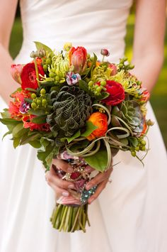 exotic wedding flowers