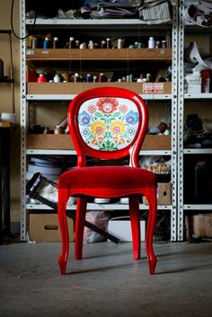 Folk chair which i made of
