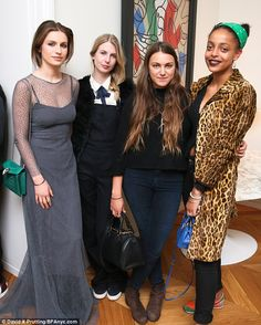 Guests: Tali was joined by her pals Flynn Roddamn, Hannah Young at Kesewa Aboah at the par...