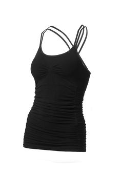 Run and Relax Yoga Cami Black