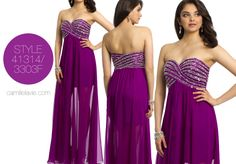 Camille La Vie Long Evening Gown and Prom Dress