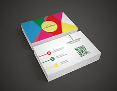 """Check out new work on my @Behance portfolio: """"Colorful business card"""" http://be.net/gallery/45955229/Colorful-business-card"""