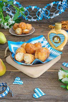 Oktoberfest-Rezepte - Selbstgemachte Quarkbällchen mit Verpoorten Oktoberfest Edition Williams - Nachtisch mit Eierlikör | Verpoorten