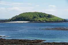 Joseph of Arimathea: St. George's Island (also Looe Island) Places Around The World, Around The Worlds, Joseph Of Arimathea, Places In Cornwall, Move In Silence, Saint George Island, Roman Britain, Legends And Myths, St George's