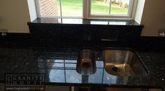 "Emerald Pearl ""Thanks for doing a great job of fitting the granite, it really makes the kitchen."" #GraniteWorktops"