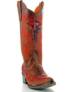 Gameday Texas Tech Cowgirl Boots - Pointed Toe   Sheplers