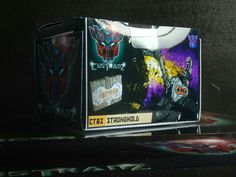 #custranz Stronghold #handmade #origami #packaging #boxart #graphicdesign #branding #customtransformer #decepticon #transformers #creative #designer #aimhigh