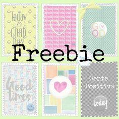 Freebies para ti : Freebie : Gente positiva