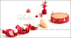 Erik Schröter - Restaurant Matisse, Basel Comme Un Chef, Le Chef, Molecular Gastronomy, Plated Desserts, Place Card Holders, Restaurant, Eat, Dresser