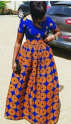 Weekend Special: Step Up Your Style Game in these Trendy & Timeless Ankara Styles - Wedding Digest Naija African Dresses For Women, African Print Dresses, African Attire, African Wear, African Fashion Dresses, African Women, African Prints, Ankara Fashion, African Style