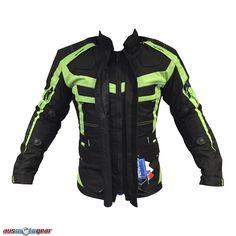 Stylish Hi Viz Textile Cordura Jacket