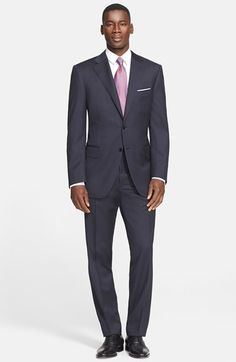 Canali+Classic+Fit+Wool+Suit+available+at+#Nordstrom
