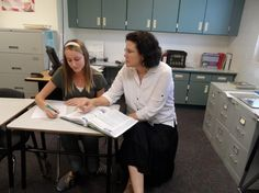 Kathleen Patterson is going from being teaching teachers to students for second quarter.