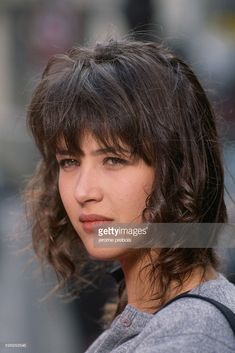 News Photo : French actress Sophie Marceau on the set of the...