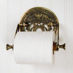 Crown Toilet Fixture Solid Brass Toilet Paper Holder