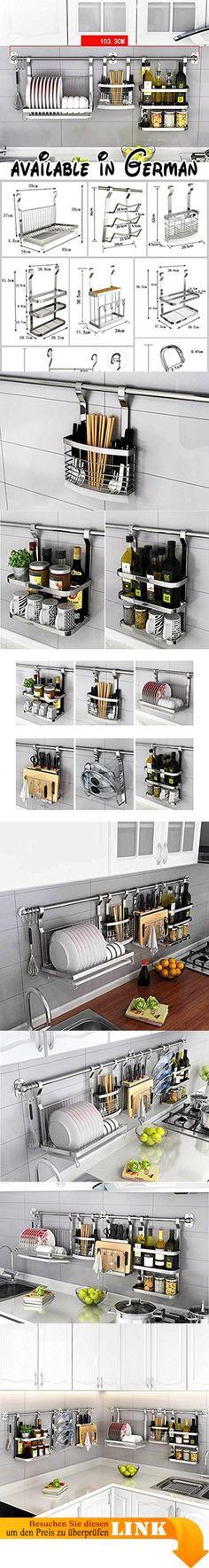 B078TVXV1B  Küche Lagerung und Organisation Küche Regal - regale für küche