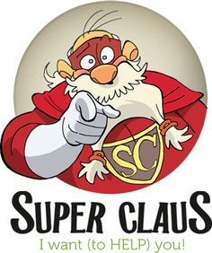 """Cosa fa Babbo Natale durante l'anno quando non consegna i regali? Scoprilo nel nuovo libro """"Che avventure Super Claus"""", adesso in libreria! #SuperClaus #GiuntiJunior"""