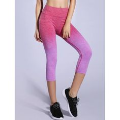 SHARE & Get it FREE | Stretchy Ombre Space-Dyed Sporty LeggingsFor Fashion Lovers only:80,000+ Items·FREE SHIPPING Join Dresslily: Get YOUR $50 NOW!
