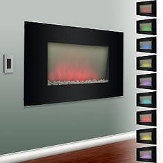 Frigidaire Color-Changing, Electric Verona Fireplace at HSN.com.
