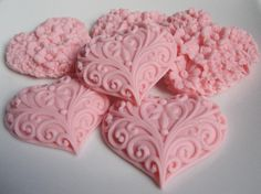 ALL ABOUT HONEYMOONS & DESTINATION WEDDINGS   Join our Facebook page!  https://www.facebook.com/AAHsf  pretty pink heart soaps